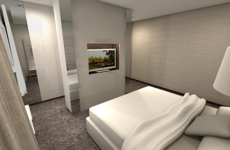 Projekt sypialnia 1