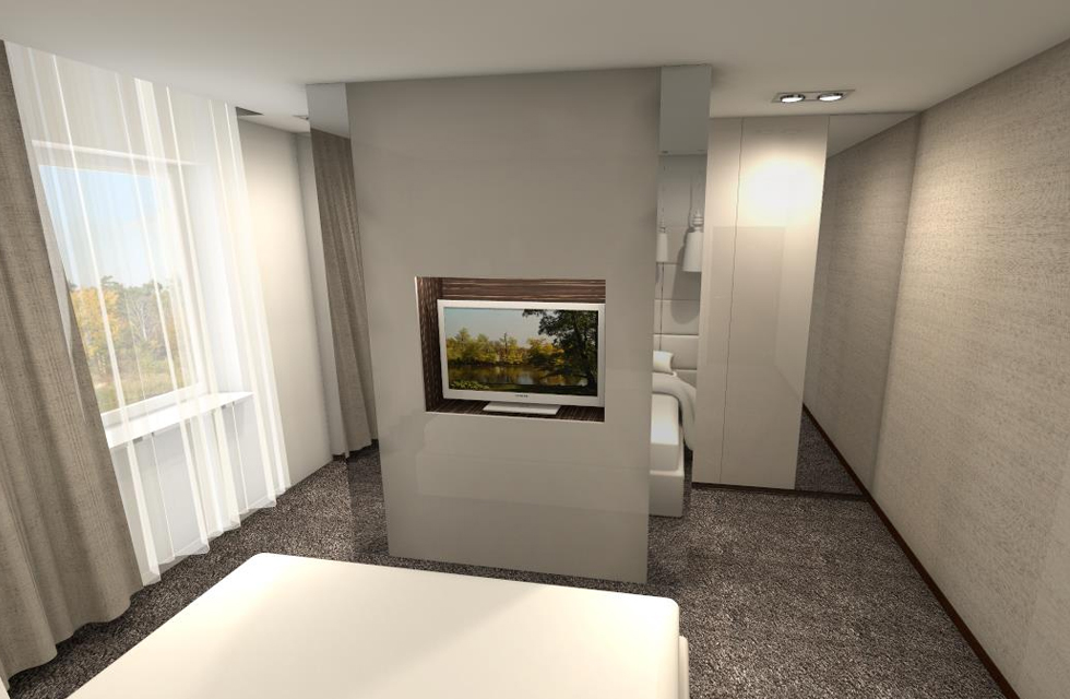 Projekt sypialnia 2