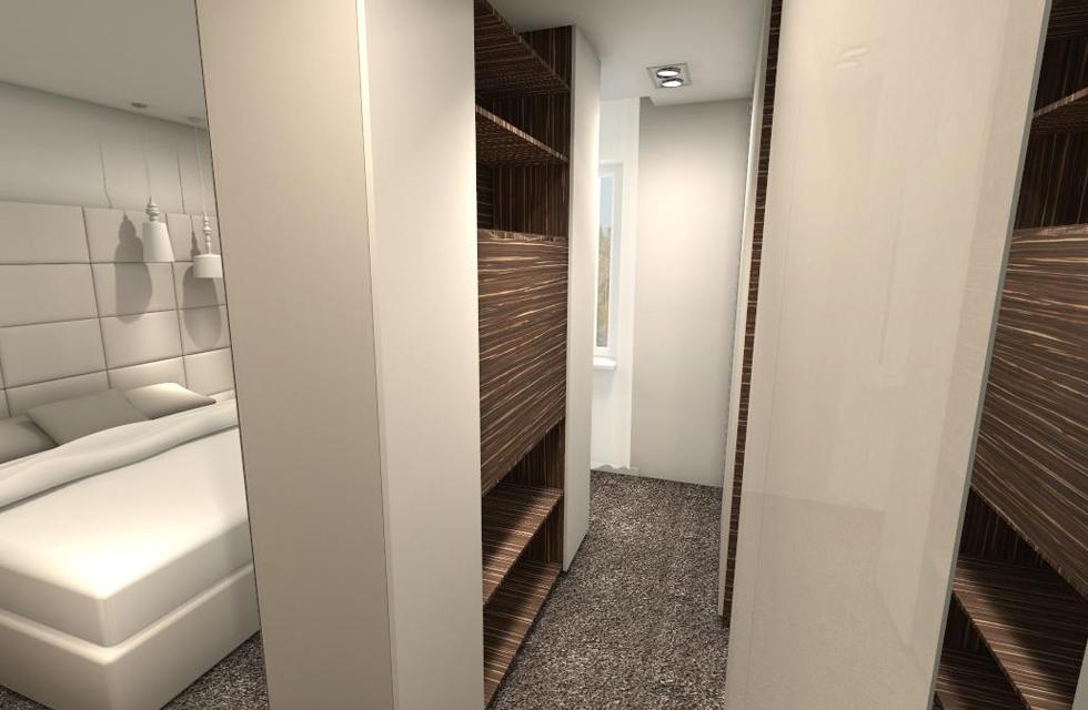 Projekt sypialnia 3